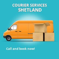 Shetland courier services ZE1