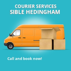 Sible Hedingham courier services CO9