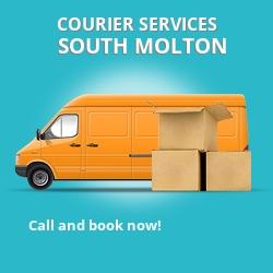 South Molton courier services EX36