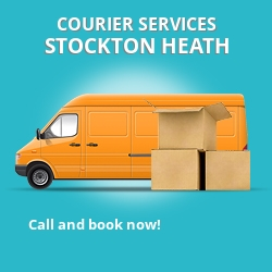 Stockton Heath courier services WA4