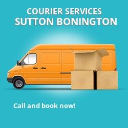 Sutton Bonington courier services LE12
