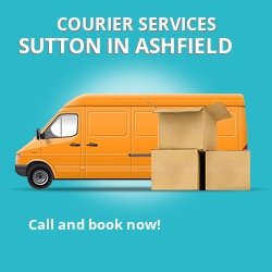 Sutton in Ashfield courier services NG17