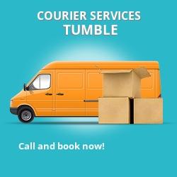 Tumble courier services SA14
