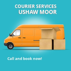Ushaw Moor courier services DH7