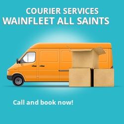 Wainfleet All Saints courier services PE24