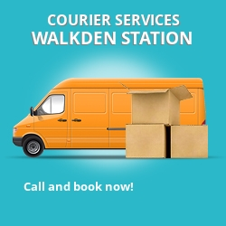 Walkden Station courier services M28