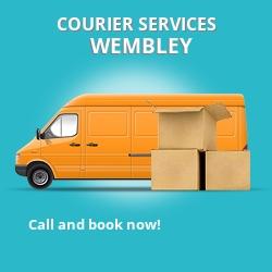 Wembley courier services HA0