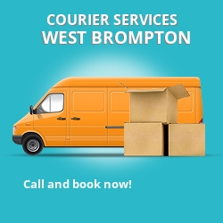 West Brompton courier services SW5