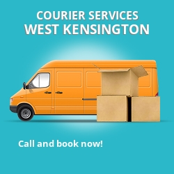 West Kensington courier services W14