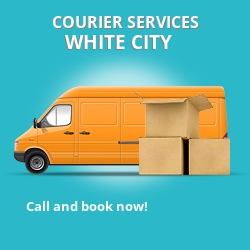 White City courier services W12