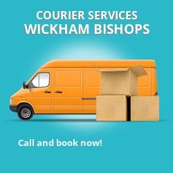 Wickham Bishops courier services CM8