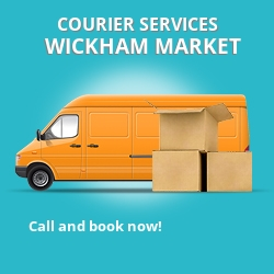 Wickham Market courier services IP13