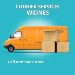 Widnes courier services WA8