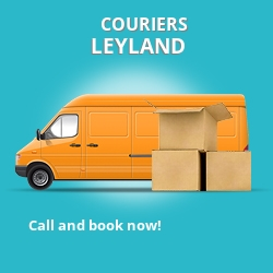Leyland couriers prices PR5 parcel delivery