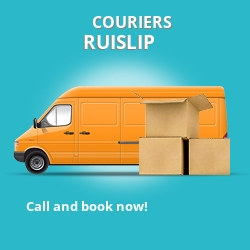 Ruislip couriers prices HA4 parcel delivery