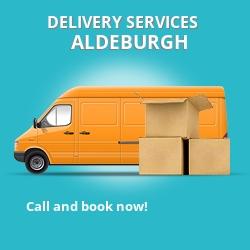 Aldeburgh car delivery services CB8