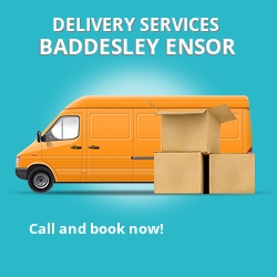 Baddesley Ensor car delivery services CV9
