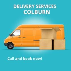 Colburn car delivery services DL9