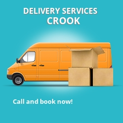 Crook car delivery services DL14