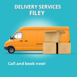 Filey car delivery services YO14