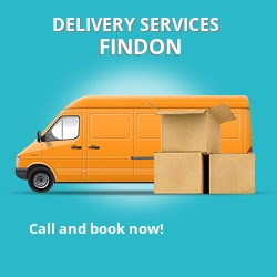 Findon car delivery services AB12