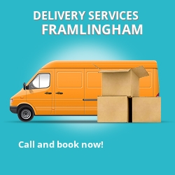 Framlingham car delivery services IP13