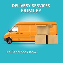 Frimley car delivery services GU16