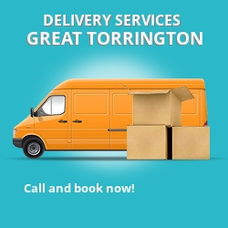Great Torrington car delivery services EX38