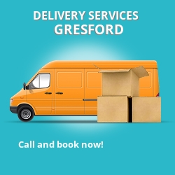 Gresford car delivery services LL12