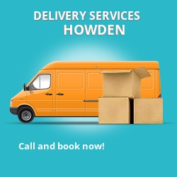 Howden car delivery services DN14