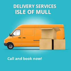 Isle Of Mull car delivery services PA75