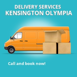 Kensington Olympia car delivery services W12