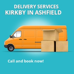 Kirkby in Ashfield car delivery services NG17