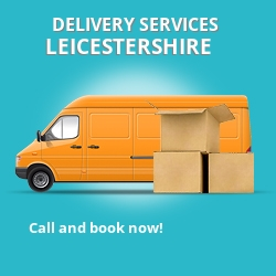 Leicestershire car delivery services LE5
