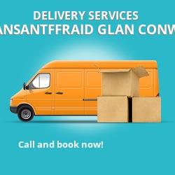 Llansantffraid Glan Conway car delivery services LL28