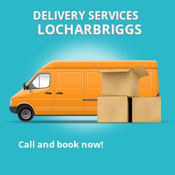 Locharbriggs car delivery services DG1