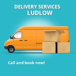 Ludlow car delivery services SY8