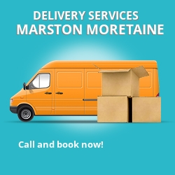 Marston Moretaine car delivery services MK43