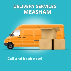 Measham car delivery services DE12