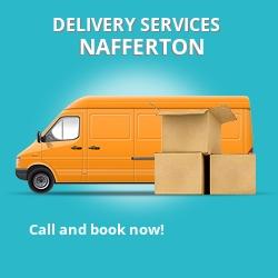 Nafferton car delivery services YO25
