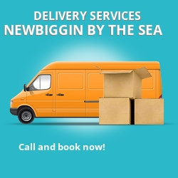 Newbiggin by the Sea car delivery services NE24