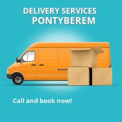 Pontyberem car delivery services SA15