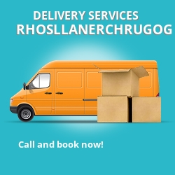 Rhosllanerchrugog car delivery services LL14