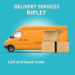 Ripley car delivery services DE5