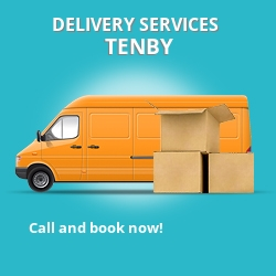 Tenby car delivery services SA70