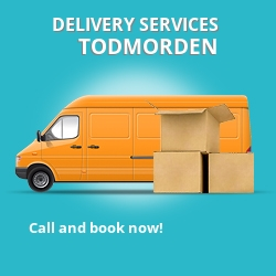 Todmorden car delivery services OL14
