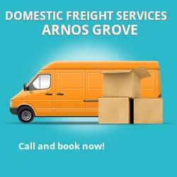 N11 local freight services Arnos Grove