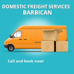 EC2 local freight services Barbican