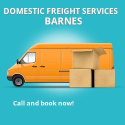 SW13 local freight services Barnes