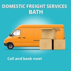 BA2 local freight services Bath